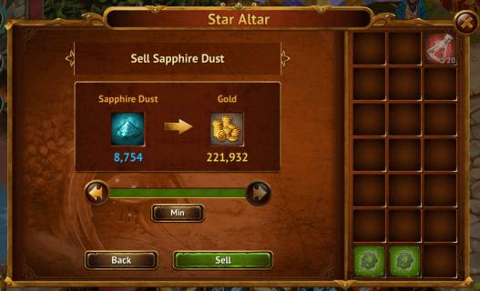 Sell Sapphire Dust II