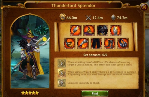 Thunderlord Splendor
