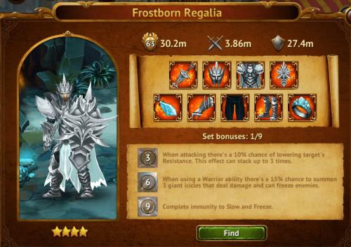 Frostborn Regalia