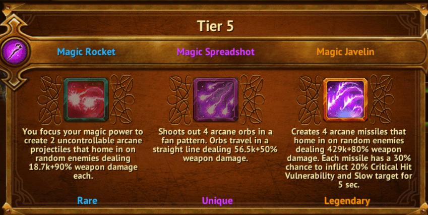 Magic Javelin