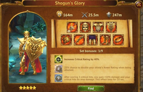 Shogun's Glory
