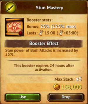 Stun Mastery