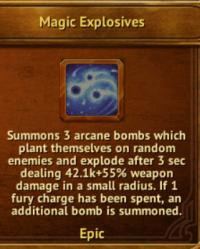 W - Magic Explosives